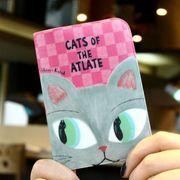 Shinzi Katoh CARD HOLDER CAT'S EYE(PINK)