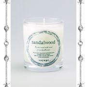 【新パッケージ】voyage ヴォヤージュ アロマキャンドル (マッチ付) サンダルウッド (sandalwood)