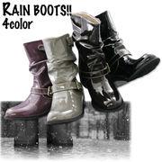 【雨の日もオシャレしよう】 エンジニアレインブーツ♪♪♪ 60021