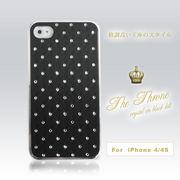 ☆割引キャンペン商品☆ iphone4、4S対応カバー クリスタル ブラック