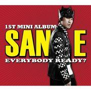 韓国音楽 SAN E(サニ)- EVERYBODY READY?(ミニアルバム)