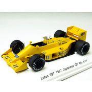 レーヴコレクション ロータス 99T 1987年日本GP 6位 #11 ドライバー:中嶋悟