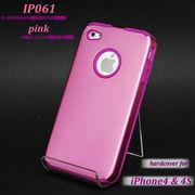 ☆100円!☆iphone4、4S対応カバー(ハードケース)ピンク