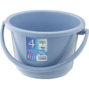 リス『使い易いバケツ』 ベルクバケツ 4WB ブルー