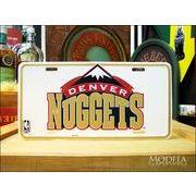 ライセンスプレート NBA DENVER NUGGETS