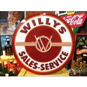 �r�b�O�T�C�Y�Ŕ� Willys/�E�B���X ���S