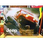 アメリカンブリキ看板 Jeep ジープ カントリー