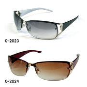 【HARD】メタルフレームサングラス(UVカット)X-2023X-2024