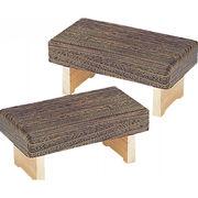 【代引不可】 折畳み正座椅子 2台セット ソファ・座椅子