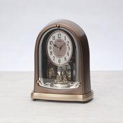【代引不可】 セイコー 電波メロディ置時計(6曲入) 目覚まし時計