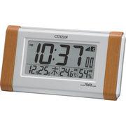 【代引不可】 シチズン 電波置時計 目覚まし時計