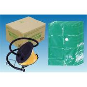 汚物圧縮保管袋セット <空気抜き付> 5MX-6P
