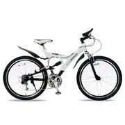「メーカー直送」M-960-2-W マイパラス 26インチ自転車 M-960type2 MTB26・18SP・Wサス ホワイト