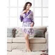 浴衣 着物ドレス バイアスデザイン 和服コスプレ コスチューム 帯付き 半袖コスプレ 4012