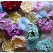 激安【お待たせ入荷:お花畑シリーズ】帯飾り(花) 10個×1セット販売。