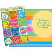Stockwell Greetings グリーティングカード バースデー メッセージ