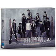 韓国音楽 SUPER JUNIOR(スーパージュニア)THE 3RD ASIA TOUR「SUPER SHOW 3」DVD