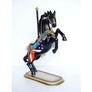 プロモーションドール【HORSE PRANCING】馬 星条旗