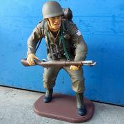 レジン製アメリカ兵オブジェ【AMERICAN SOLDIER (S)】セールスプロモーションドール