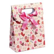 BW130501◆送料O円◆紙袋★小物入り★ギフトポーチ 手提げ袋