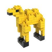 格安☆子供も大人もハマるブロック◆ホビー・ゲーム◆ブロックおもちゃ◆小さい◆積み木◆知育玩具◆ラクダ
