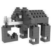 格安☆子供も大人もハマるブロック◆ホビー・ゲーム◆ブロックおもちゃ◆小さい◆積み木◆知育玩具◆ゾウ