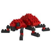 格安☆子供も大人もハマるブロック◆ホビー・ゲーム◆ブロックおもちゃ◆小さい◆積み木◆知育玩具◆蜘蛛