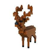 格安☆子供も大人もハマるブロック◆ホビー・ゲーム◆ブロックおもちゃ◆積み木◆知育玩具◆ヘラジカ