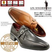 UN SNOBBISH 【MadeInJapan】本革紳士ビジネスシューズ T-607
