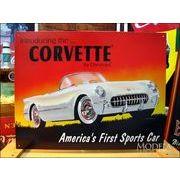 アメリカンブリキ看板 コルベット -'53 Corvette-