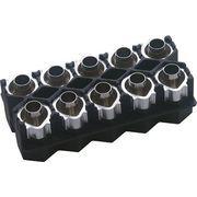 DXアンテナ 5C用接栓マガジン F51MH