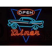 ネオンサイン【DINER OPEN】ダイナーオープン
