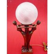 【SALE】 テーブルランプ 2レディー マーブルガラス