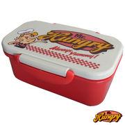 Mr.Hungry(ミスターハングリー)ランチアイテム【ランチボックス 1段】お弁当箱