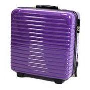 トラベル/出張 TSAロック搭載 小型/36L スーツケース パープル DC-8007-PR