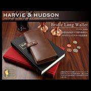 Harvie and Hudson 長財布 ブラウン HA-1001-BR