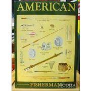 アメリカンブリキ看板 釣り道具の歴史
