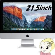 APPLE 21.5インチ デスクトップパソコン iMac MK142J/A [1600]