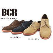 【BCR】 BC-022 リアルレザー レースアップ シューズ 全3色 メンズ