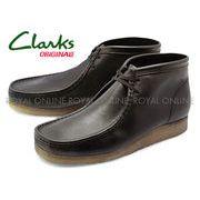 【クラークス】 26111461 ワラビー ブーツ ブラック メンズ