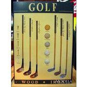 アメリカンブリキ看板 ゴルフ道具の歴史