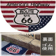 ���R�R�i�c���փ}�b�g���R�C���[�}�b�g���yCOIR MAT�z �t�r ���[�g�U�U��Americas Highway US Route66��