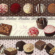 Paper+Design  ペーパーナプキン チョコレート