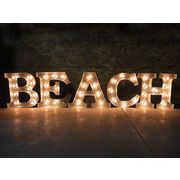 AMERICAN SIGN WITH LIGHT �uBEACH�v
