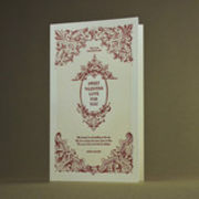 oblation papers&press 活版印刷カード english lit  valentine バレンタイン