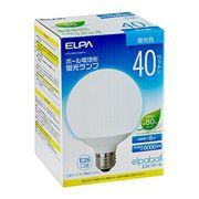 ELPA 電球形蛍光灯G形 40W形 EFG10ED8-G041H