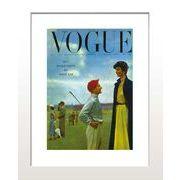 ИVoque's Poster series【Vogue Paris Septembre1950】