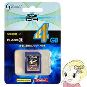 G-SDHC4-C4 �f�������|�� SDHC�������[�J�[�h�@4GB�@CLASS4