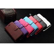 iPhone SE/5S/5/6/6Sシリーズ対応ケース 写真入れ カードポケット付き 手帳型カバ― Ver2