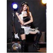 ステージ衣装 婦警 女警官 警察 コスプレ レースクイーン コスチューム ハロウィン仮装 bwn0089-2